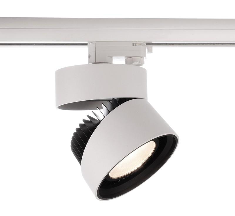 led leuchte strahler black white 3000k f r erco staff 3. Black Bedroom Furniture Sets. Home Design Ideas