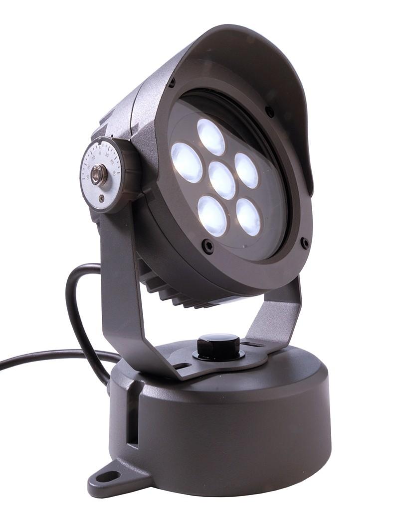 Trendig Außen LED Boden-/Wand-/Decken Strahler Power Spot V, anthrazit  LQ15