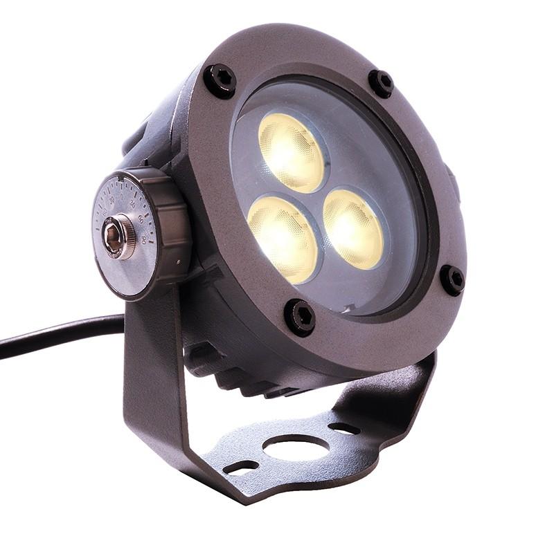 Großartig Außen Garten Strahler Power Spot, 24V, LED warmweiß 5W, anthrazit  VA91