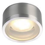 ROX CEILING OUT TCR-TSE, Outdoor Deckenleuchte, alu gebürstet, max.11W, IP44