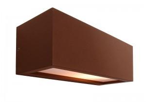 braune up and down wandleuchte rilongo f r. Black Bedroom Furniture Sets. Home Design Ideas