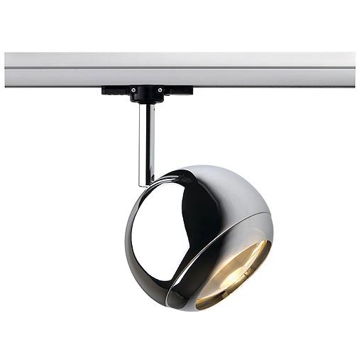 retro strahler light eye spot f r 3 phasen schiene chrom. Black Bedroom Furniture Sets. Home Design Ideas
